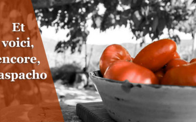 Gaspacho Pata Negra… saveurs du sud.