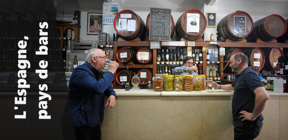 L'Espagne, pays de bars